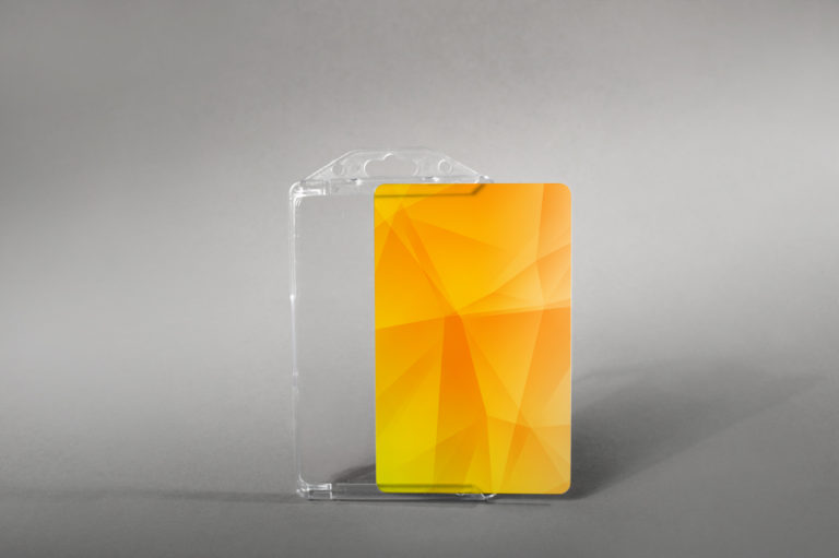 Robust light card holder (vertical)