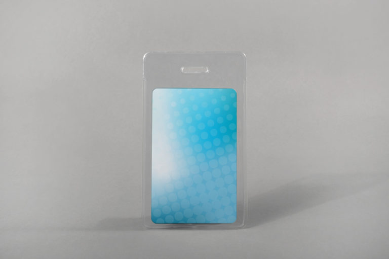 Soft RFID card holder (vertical)