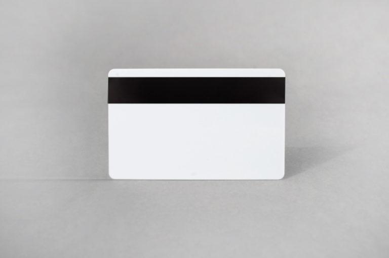 White Mag Stripe PVC cards 30 mil (LoCo, HiCo)