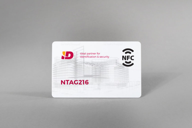 NFC bijele PVC kartice NTAG216