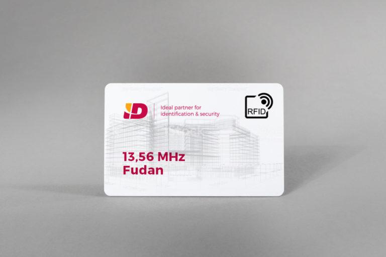 Fudan 13,56 MHz bele PVC kartice