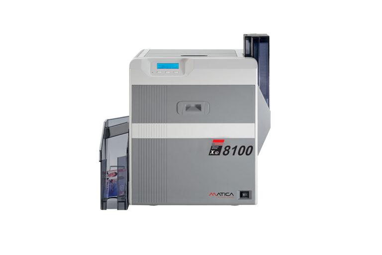 XID8100 Tiskalnik kartic