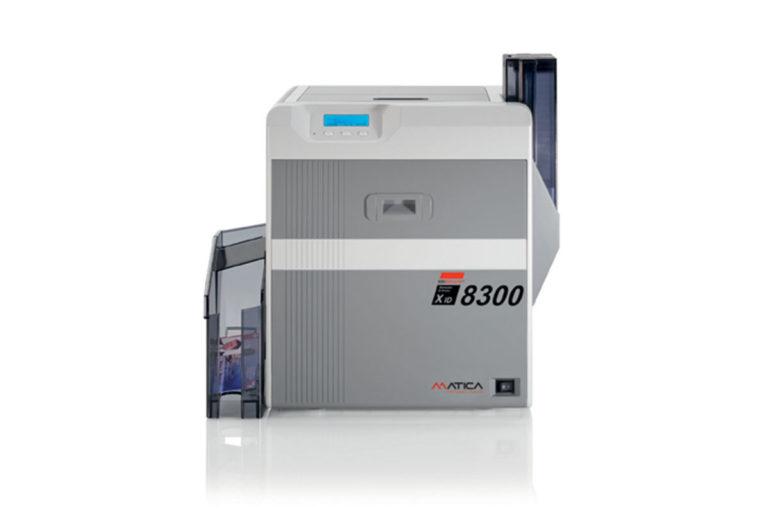 XID8300 Tiskalnik kartic