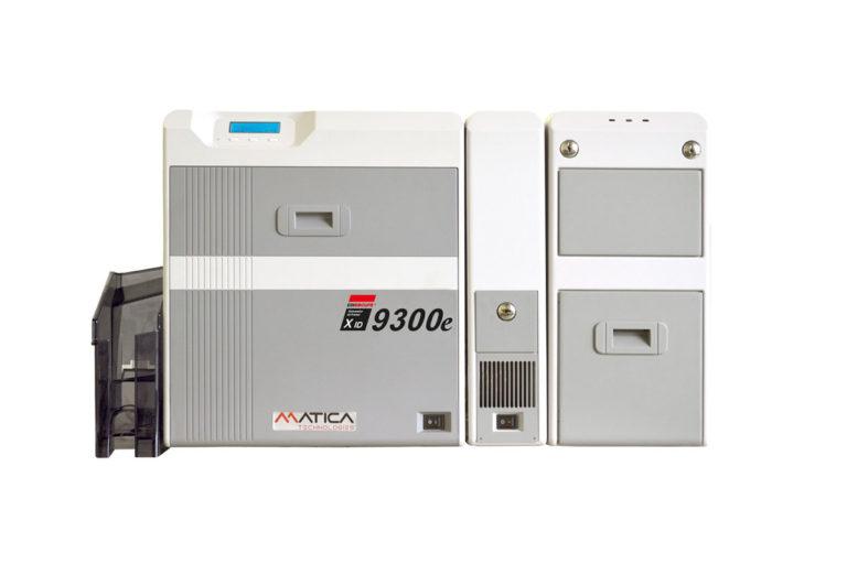 XID9300e Tiskalnik kartic