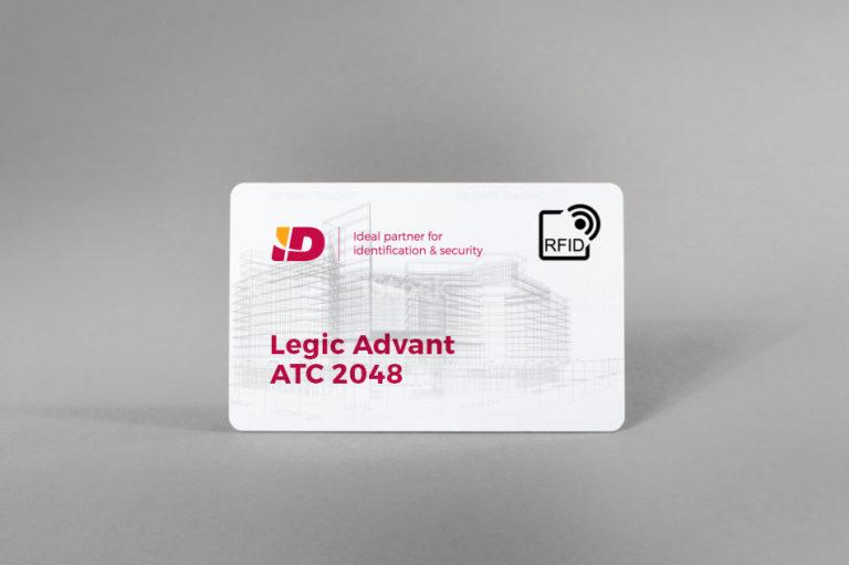 Legic Advant ATC 2048 bele PVC kartice