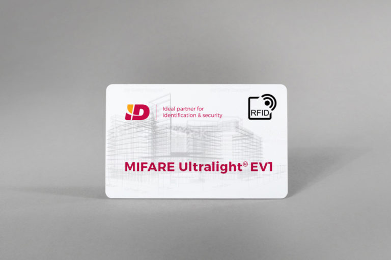MIFARE Ultralight® EV1 bele PVC kartice