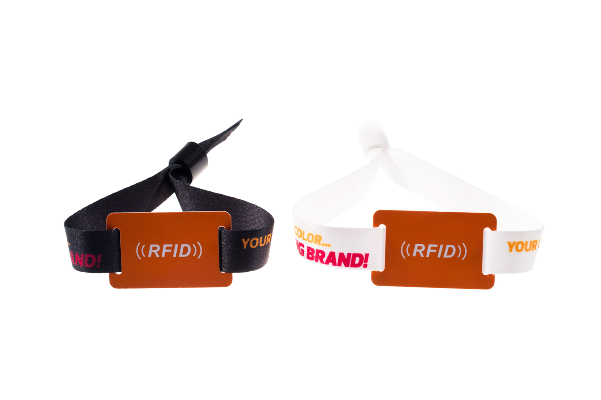 Fabric Printed Rfid Wristbands Id Shop
