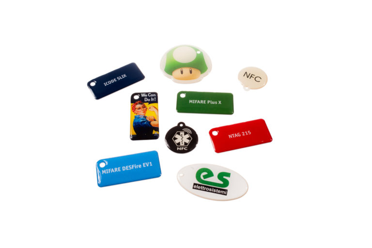 Epoxy RFID Keyfobs