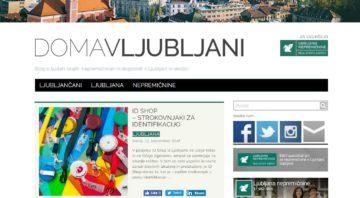 O ID Shop tudi v blogu! …ker smo Doma v Ljubljani!