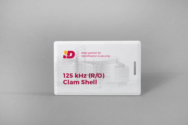 (Slovenščina) 125 kHz (R/O) Clam Shell bele PVC kartica