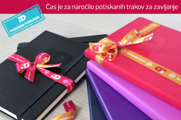 (Slovenščina) Kako boste letos zavili poslovna darila?