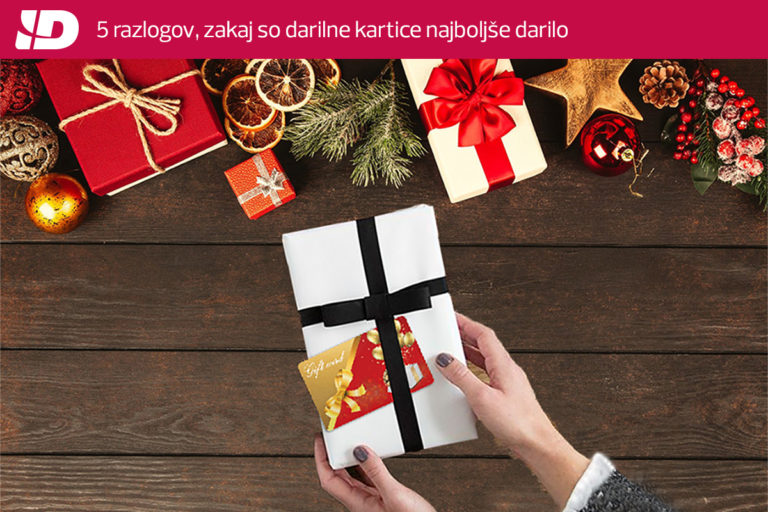 (Slovenščina) Želite letos svojim strankam podariti možnost izbire?