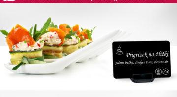 (Slovenščina) Označevanje hrane za samopostrežne pogostitve na hiter, pregleden in higieničen način.