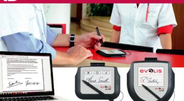 Podpisne tablice za hitro in varno zajemanje elektronskih podpisov in zmanjšanje papirnega poslovanja