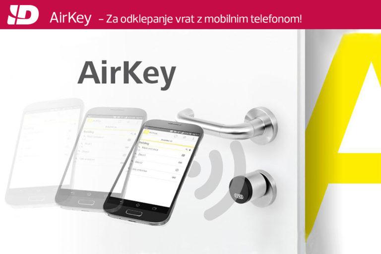 (Slovenščina) Želite pozabiti na ključe in odpirati vrata z mobilnim telefonom?