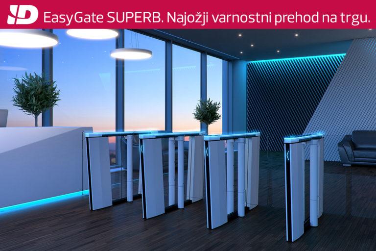 EasyGate SUPERB – Novi hitri prehod za zavarovana območja.