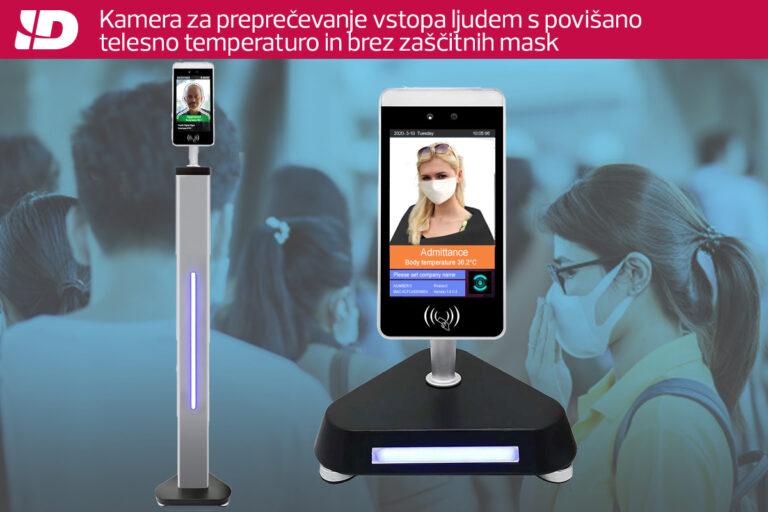 Kamera za brezkontaktno merjenje telesne temperature
