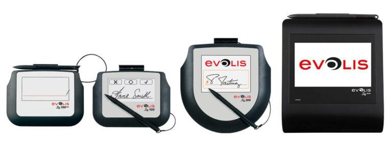 Podpisne tablice Evolis